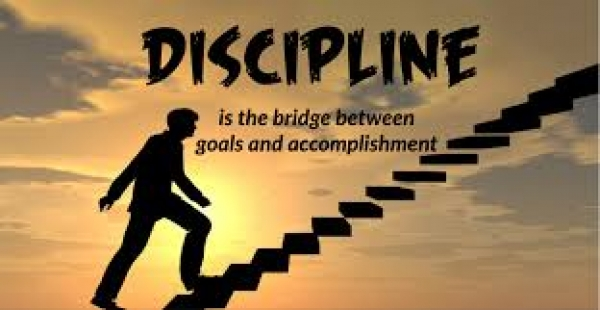 Develop the discipline of a Master
