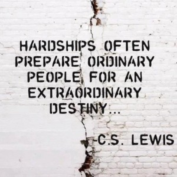 Opportunity out of Hardship